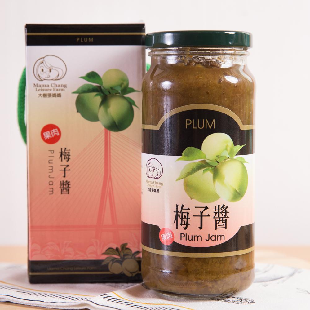 【張媽媽桑椹休閒農場】梅子醬(每瓶550g)