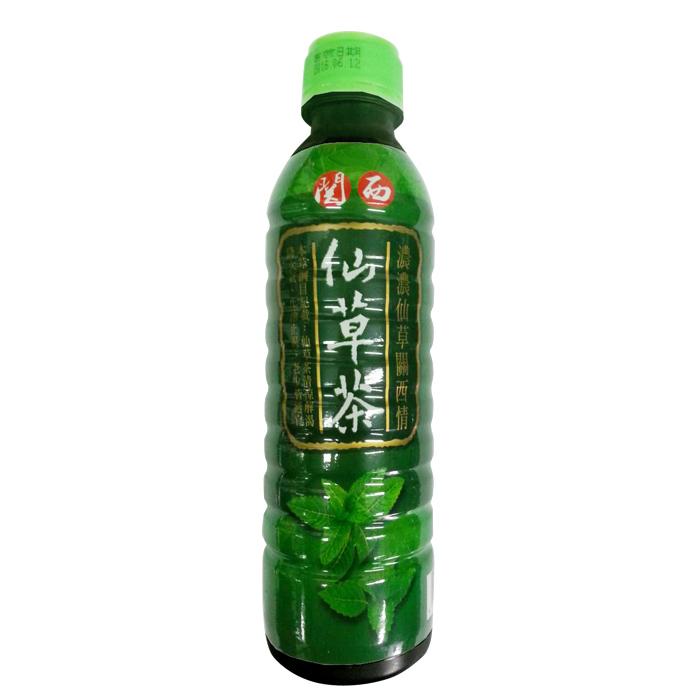 【農漁會超市中心】關西鎮農會仙草茶600ml(單瓶)