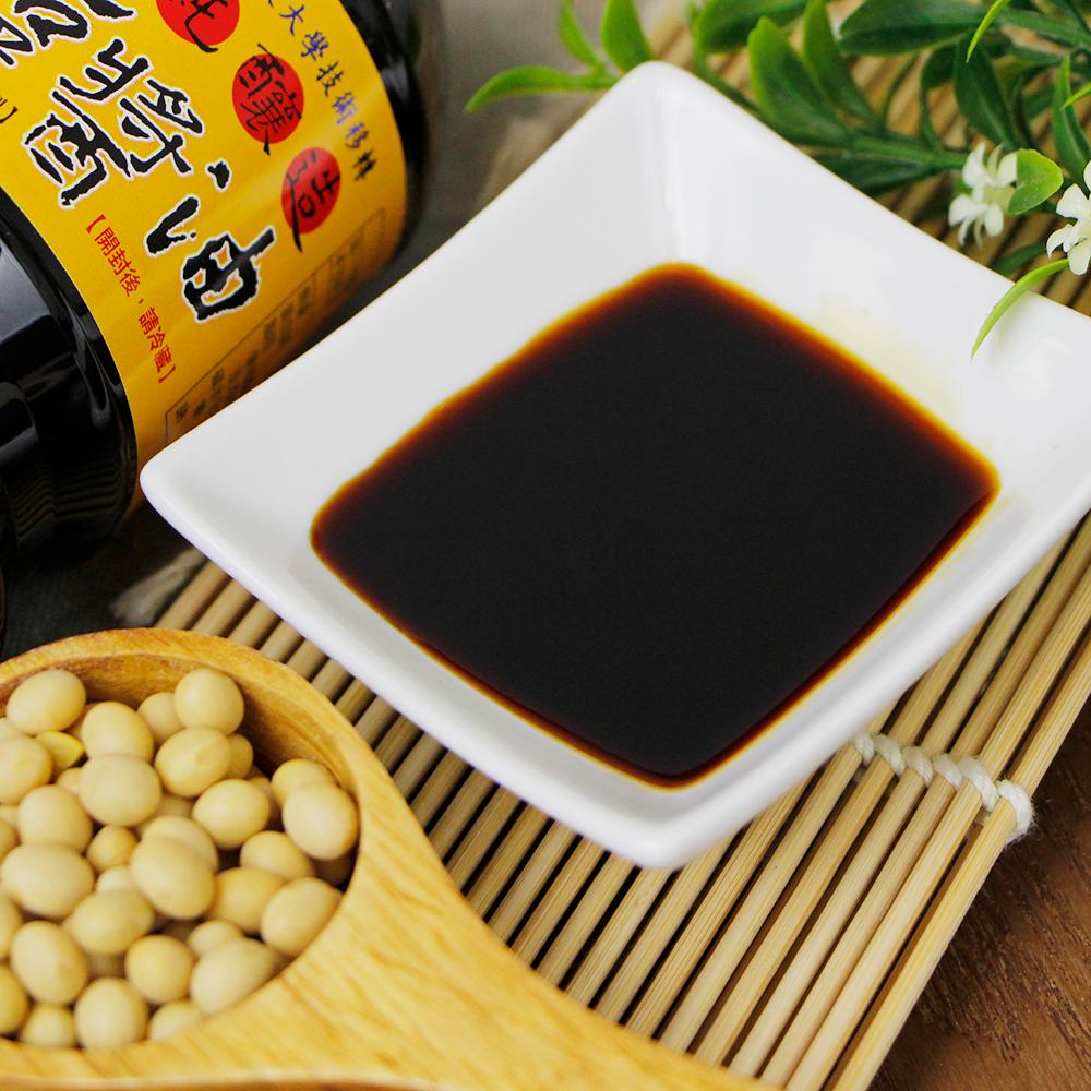 【屏大生技】薄鹽醬油(單瓶560ml)