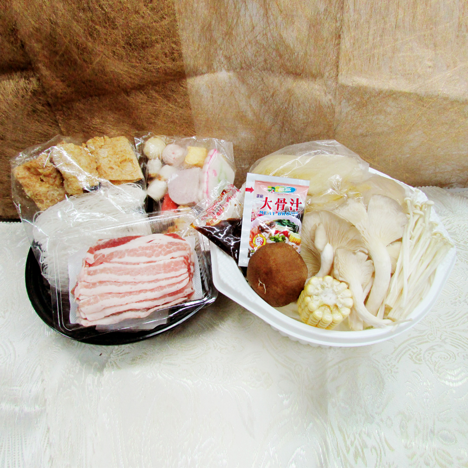 【陽光農業】輕鬆煮酸菜白肉鍋3盒(約1700g/盒)(含運)
