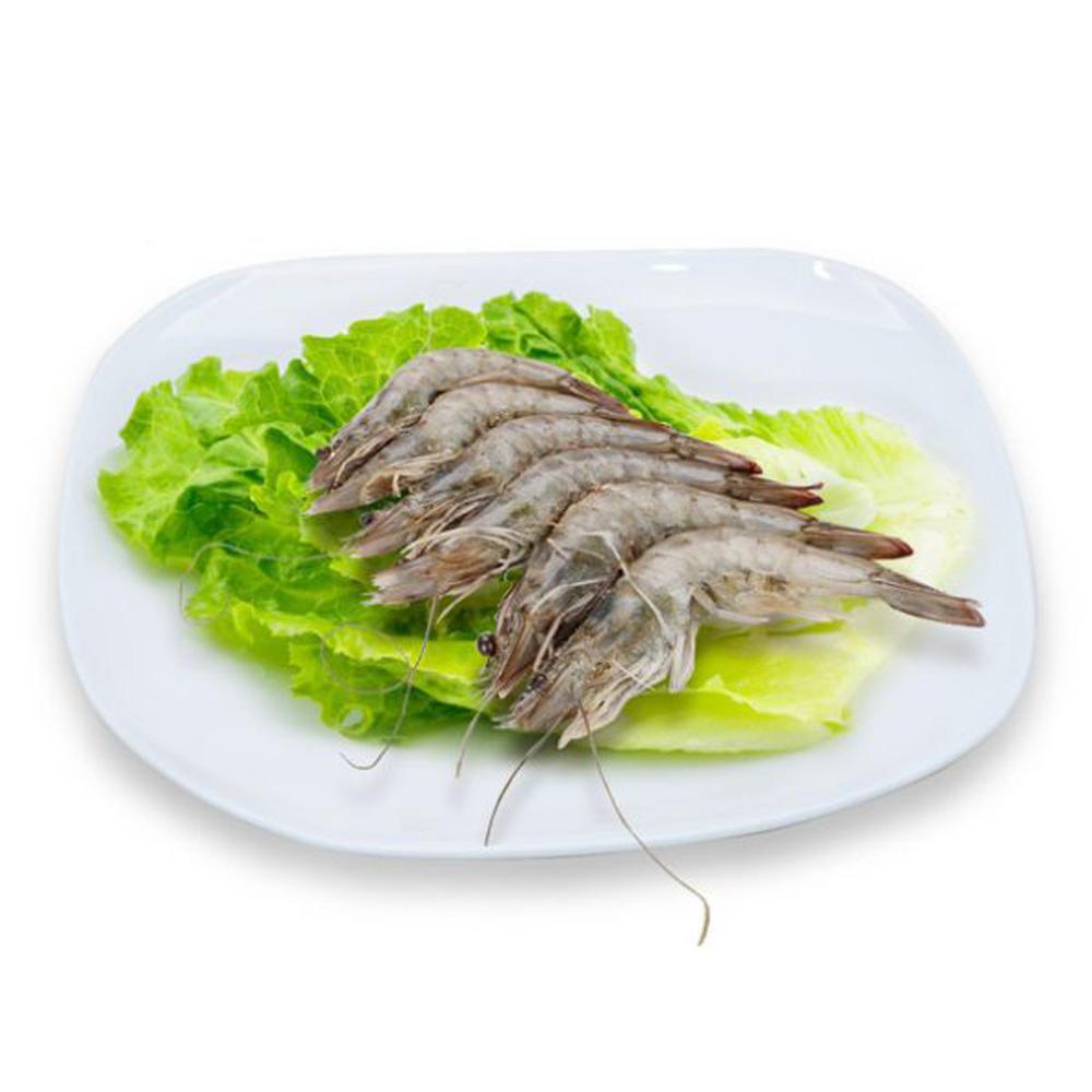 【國寶水產行】國產冷凍(活凍)白蝦 (約250g、12隻/盒)
