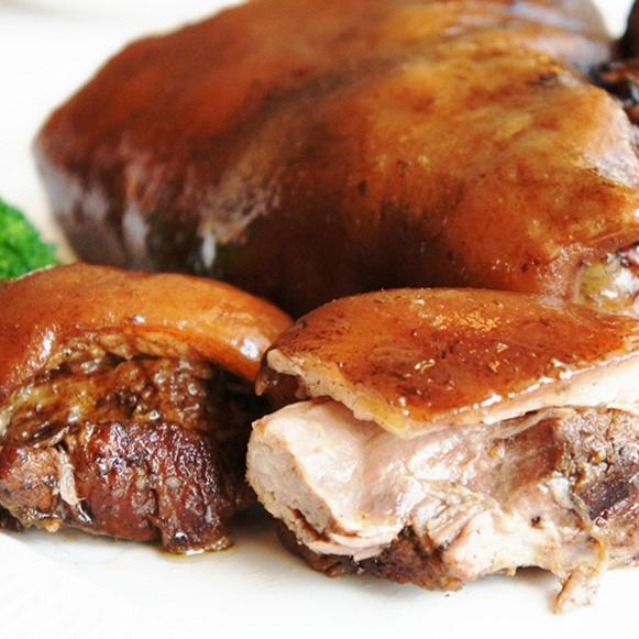【阿囉哈滷味】滷豬腳1包(每包1250g)(含運)
