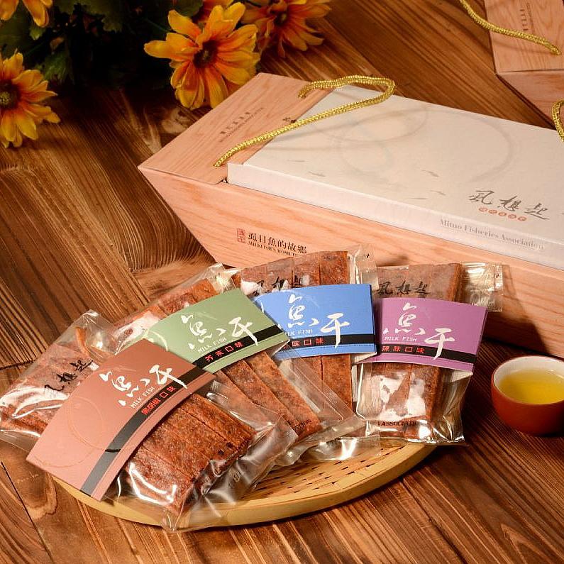 【彌陀區漁會】思慕‧魚魚干禮盒1盒(每盒360g)(含運)