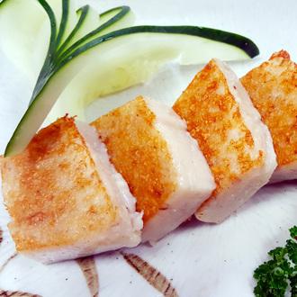 【阿喬師水粄粥】賀彩頭港式蘿蔔糕2 盒(1400公克)+虱目魚粥糜6入(含運)