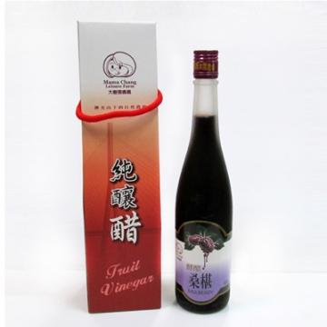 【張媽媽桑椹休閒農場】桑椹酵醋(每瓶600ml)