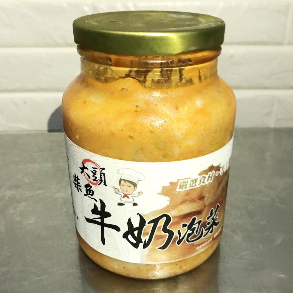 【大頭韓式泡菜】柴魚牛奶泡菜3罐(每罐600g)(含運)