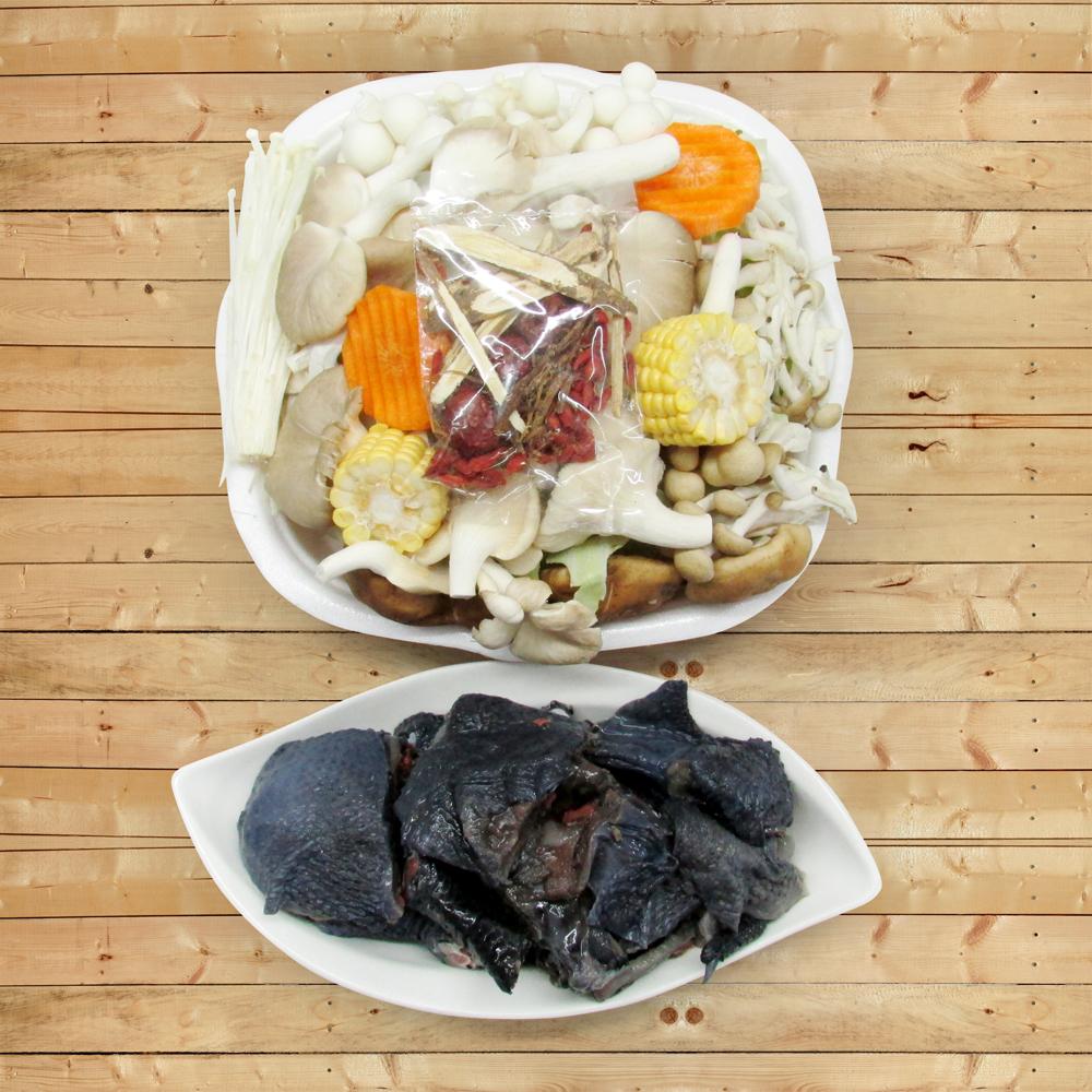 【陽光農業】輕鬆煮藥膳烏骨雞2盒(約1500g/盒)(含運)