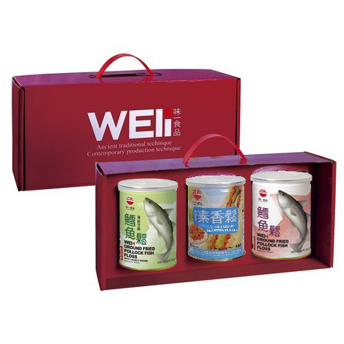 【味一食品】經典禮盒三入組(200G易開罐)(含運)