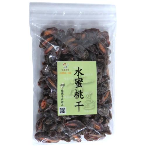 【啡茶不可】水蜜桃乾5包(300g/包)含運~酸甜好滋味,讓人吃了還想再吃。