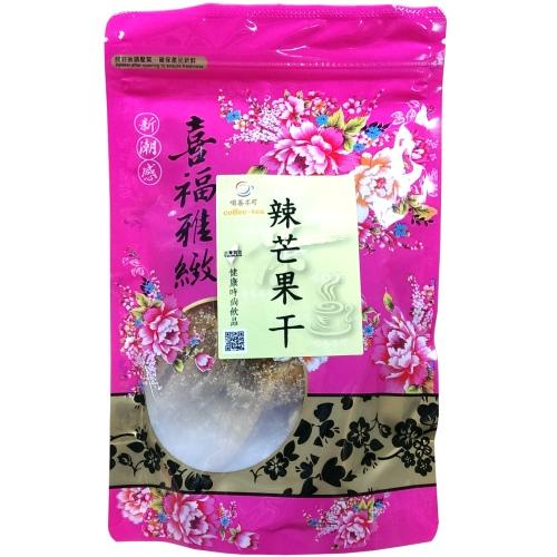 【啡茶不可】辣芒果乾5包(250g/包)含運~酸甜好滋味,又帶有微辣,讓人吃了還想再吃。