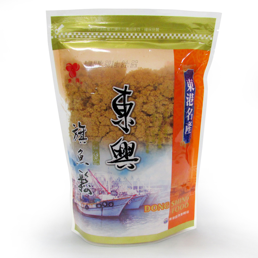 【農漁會超市中心】東大興旗魚脯3包(每包300g)(含運)