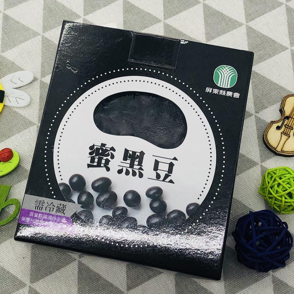 【農漁會超市中心】屏東縣農會蜜黑豆6盒(每盒300g)(含運)