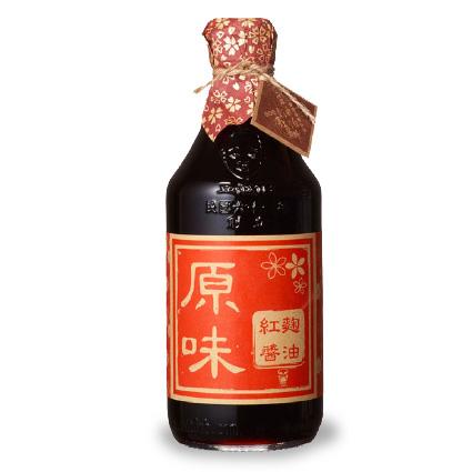 【農漁會超市中心】豆油伯紅麴醬油2瓶(每瓶500ml)(含運)