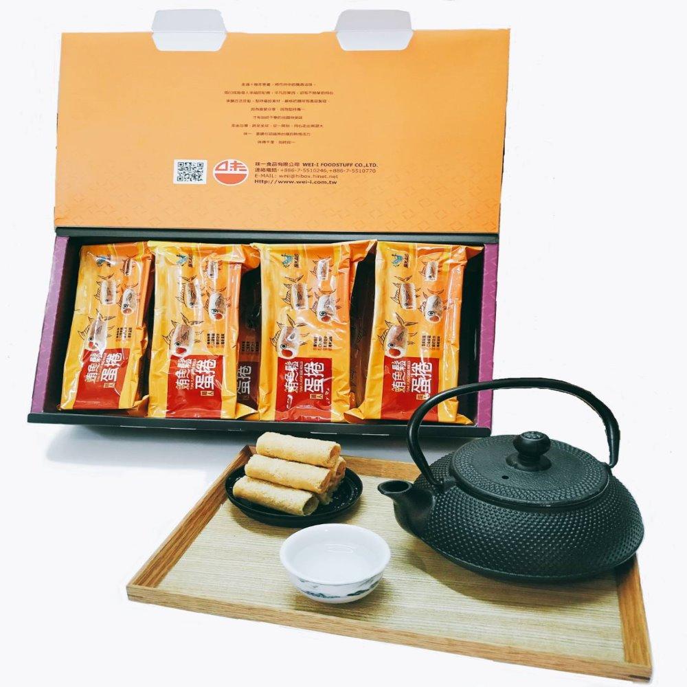 【味一食品】吮指鮪魚鬆蛋捲(12包/盒)(含運)