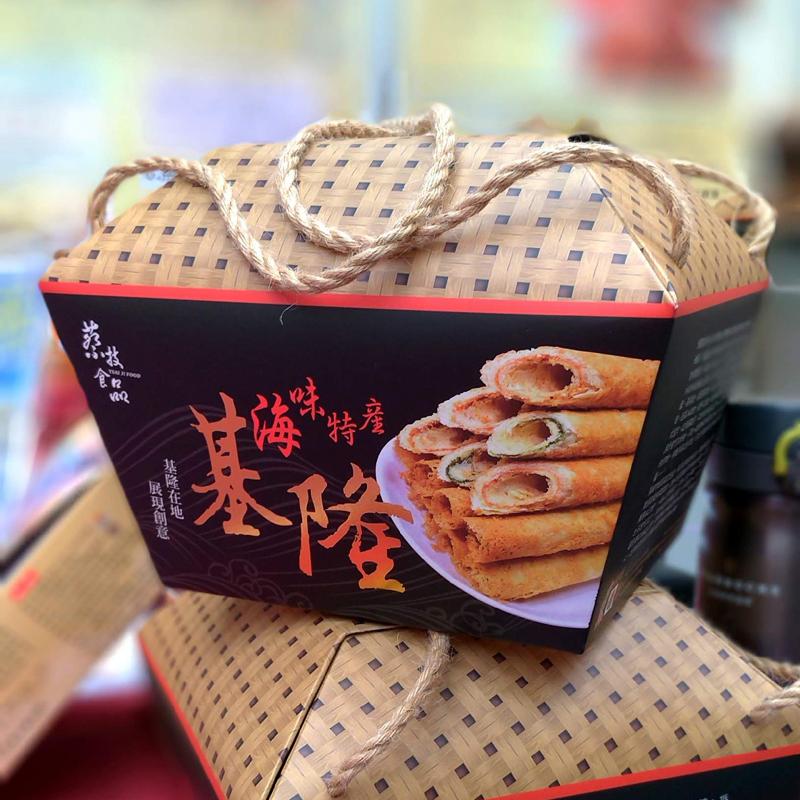 【蔡技食品】任選120包_夾心手工蛋捲(共12盒,每盒10包,每包2入)(免運)