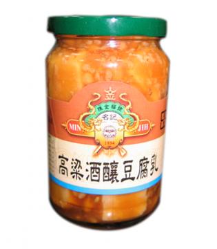 【農漁會超市中心】陳金福酒釀原味豆腐乳(每罐380g)